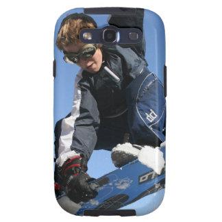 Caja de la galaxia de Samsung de la snowboard del Galaxy SIII Carcasa