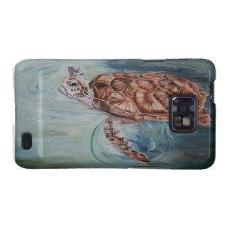 Caja de la galaxia de Samsung de la tortuga de mar Samsung Galaxy SII Carcasa