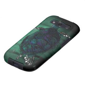 Caja de la galaxia de Samsung de la tortuga de mar Samsung Galaxy SIII Funda