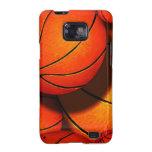 Caja de la galaxia de Samsung de los baloncestos Galaxy S2 Funda