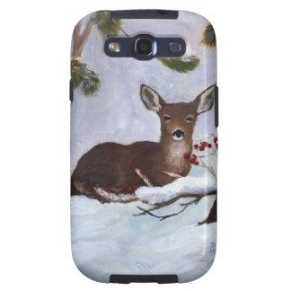 Caja de la galaxia de Samsung de los ciervos de la Samsung Galaxy S3 Cárcasas