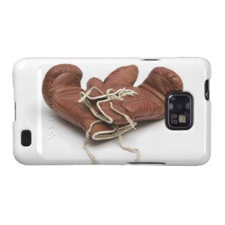 Caja de la galaxia de Samsung de los guantes de Samsung Galaxy SII Funda