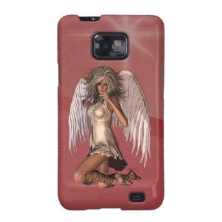 Caja de la galaxia de Samsung del ángel de guarda Samsung Galaxy S2 Carcasa