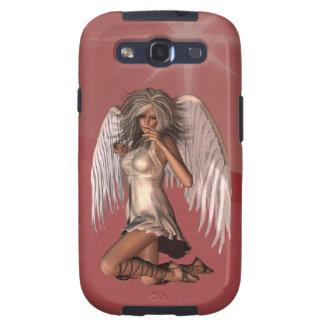 Caja de la galaxia de Samsung del ángel de guarda Samsung Galaxy S3 Protectores