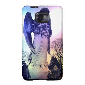 Caja de la galaxia de Samsung del ángel Galaxy S2 Fundas