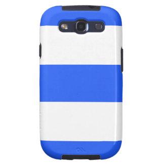 Caja de la galaxia de Samsung del azul y del blanc Samsung Galaxy S3 Funda