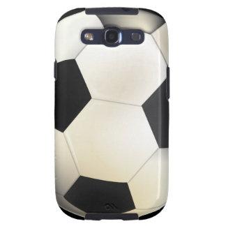 Caja de la galaxia de Samsung del balón de fútbol Galaxy SIII Coberturas