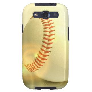 Caja de la galaxia de Samsung del béisbol Galaxy SIII Cárcasas