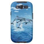 Caja de la galaxia de Samsung del delfín del aire Samsung Galaxy S3 Funda