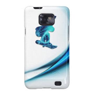 Caja de la galaxia de Samsung del diseño de la Samsung Galaxy S2 Carcasas