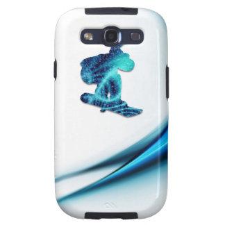 Caja de la galaxia de Samsung del diseño de la Samsung Galaxy S3 Funda
