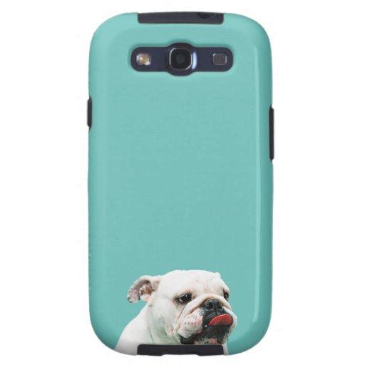 Caja de la galaxia de Samsung del dogo Samsung Galaxy S3 Protectores