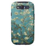 Caja de la galaxia de Samsung del flor de la almen Galaxy S3 Carcasas