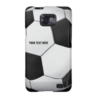 Caja de la galaxia de Samsung del fútbol