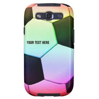 Caja de la galaxia de Samsung del fútbol Galaxy S3 Cárcasa
