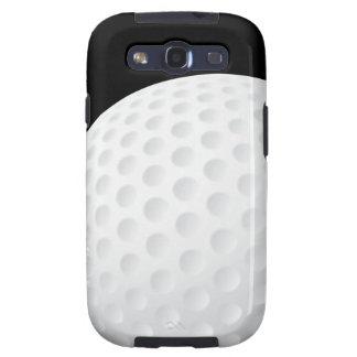 Caja de la galaxia de Samsung del golf Galaxy SIII Protector