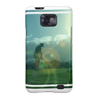 Caja de la galaxia de Samsung del golfista Samsung Galaxy S2 Carcasas
