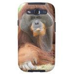 Caja de la galaxia de Samsung del mono del Samsung Galaxy S3 Funda