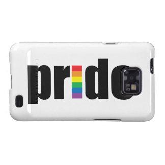 Caja de la galaxia de Samsung del orgullo gay Galaxy S2 Carcasa
