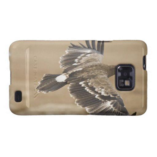 Caja de la galaxia de Samsung del pájaro de Eagle Samsung Galaxy SII Carcasas