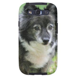 Caja de la galaxia de Samsung del perrito de Shelt Galaxy SIII Protectores