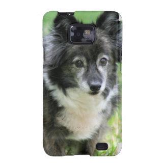 Caja de la galaxia de Samsung del perrito de Shelt Samsung Galaxy S2 Funda