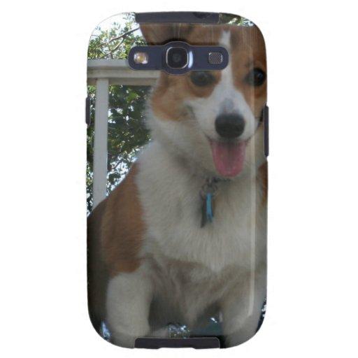 Caja de la galaxia de Samsung del perrito del Corg Galaxy SIII Carcasas