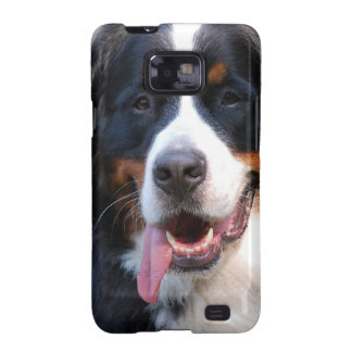 Caja de la galaxia de Samsung del perro de montaña Galaxy SII Fundas