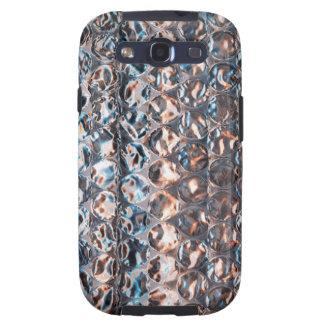 Caja de la galaxia de Samsung del plástico de burb Samsung Galaxy S3 Funda