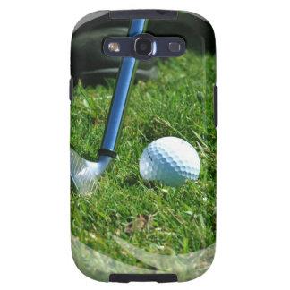 Caja de la galaxia de Samsung del putt del golf Galaxy SIII Cárcasa