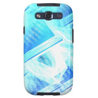 Caja de la galaxia de Samsung del soporte técnico Samsung Galaxy S3 Protectores