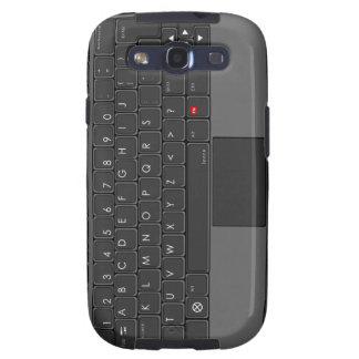 Caja de la galaxia de Samsung del teclado de ABC Galaxy SIII Coberturas