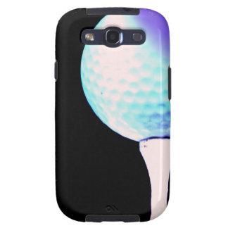Caja de la galaxia de Samsung del tee de golf Galaxy SIII Protector