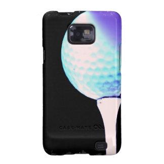Caja de la galaxia de Samsung del tee de golf Galaxy SII Carcasa