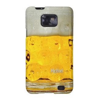 Caja de la galaxia de Samsung del vidrio de cervez Samsung Galaxy S2 Fundas