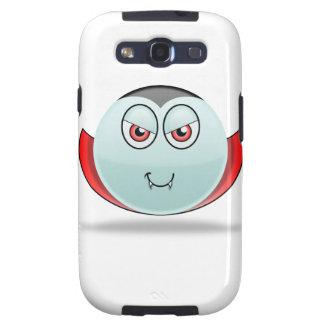 Caja de la galaxia de Smilie Samsung del vampiro Samsung Galaxy S3 Funda