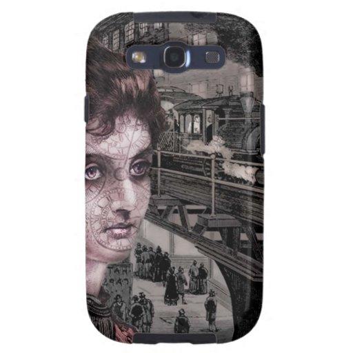 Caja de la galaxia de Steampunk Samsung Galaxy S3 Cobertura