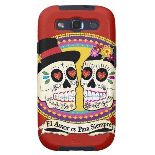 Caja de la galaxia del Los Novios Samsung (español Samsung Galaxy S3 Protector