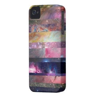 Caja de la galaxia iPhone 4 protector