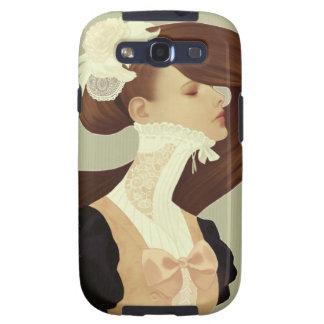 """Caja de la galaxia S2 de Samsung del """"cordón"""" Samsung Galaxy S3 Protectores"""