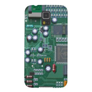 Caja de la galaxia S2 de Samsung del friki de la p Carcasas De Galaxy S5