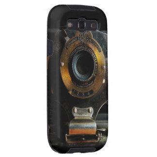 Caja de la galaxia S3 de la cámara del vintage