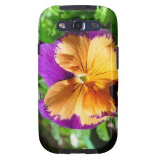 Caja de la galaxia S3 de la flor del comodín Samsung Galaxy S3 Coberturas