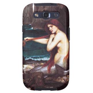 Caja de la galaxia S3 de Samsung de la sirena del  Samsung Galaxy S3 Cárcasa