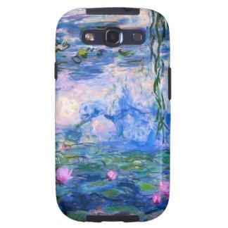 Caja de la galaxia S3 de Samsung de los lirios de  Samsung Galaxy S3 Carcasa