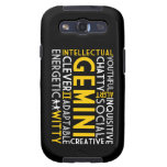 Caja de la galaxia S3 de Samsung del collage de la Galaxy S3 Protector