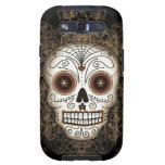 Caja de la galaxia S3 de Samsung del cráneo del az Samsung Galaxy S3 Carcasas