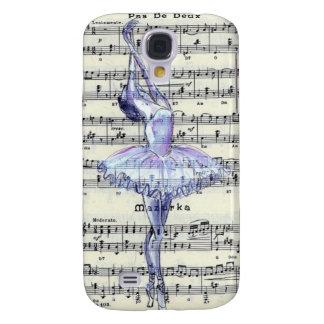 Caja de la galaxia S4 de Ballet Pas de Deux Samsun Funda Para Galaxy S4