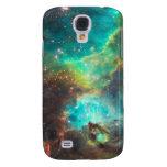 Caja de la galaxia S4 de Samsung de la nebulosa