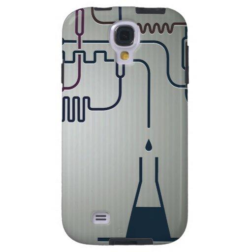 Caja de la galaxia S4 de Samsung de la química de